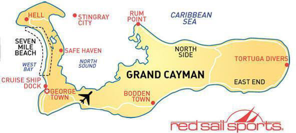 Things To Do For All - Cayman islands cities map